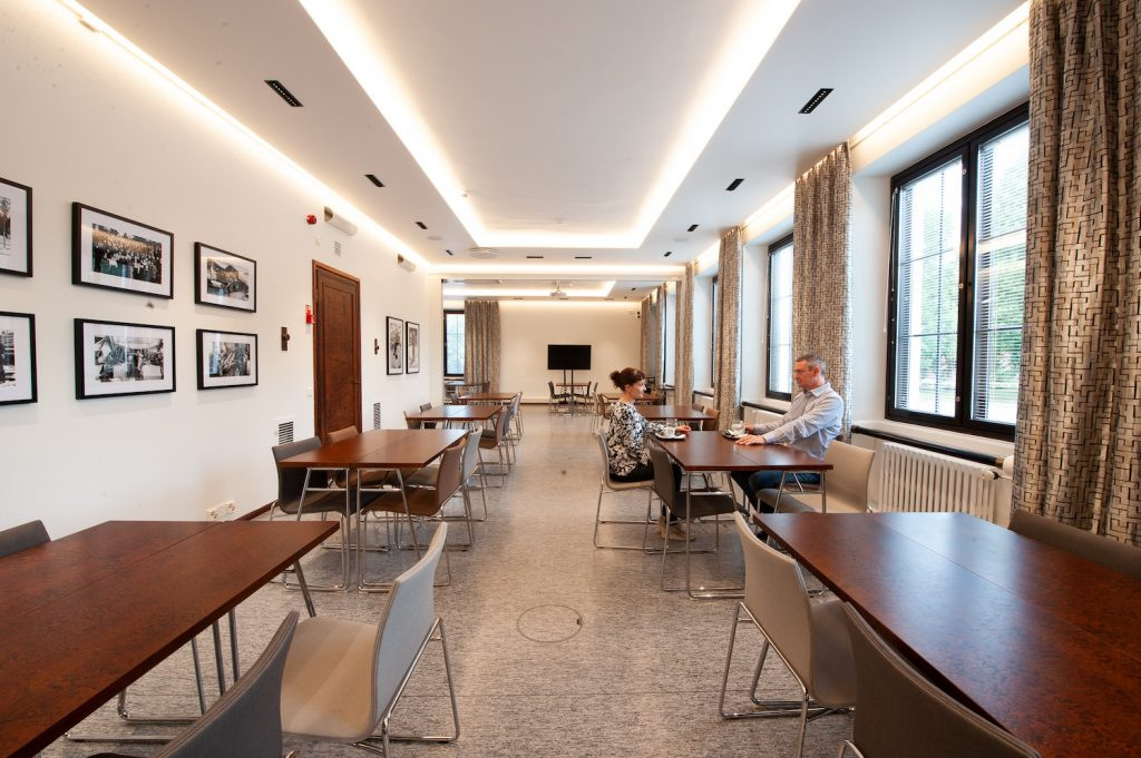 Serlachius Museums' restaurant services for groups at Gustaf's hall