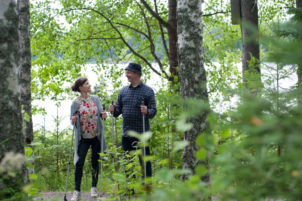 Beside magnificent art, Serlachius Museums offer outdoor activities amid Finnish lakeside nature in Tampere Region.