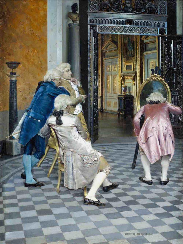 Gunnar Berndtson, Taiteentuntijoita Louvressa