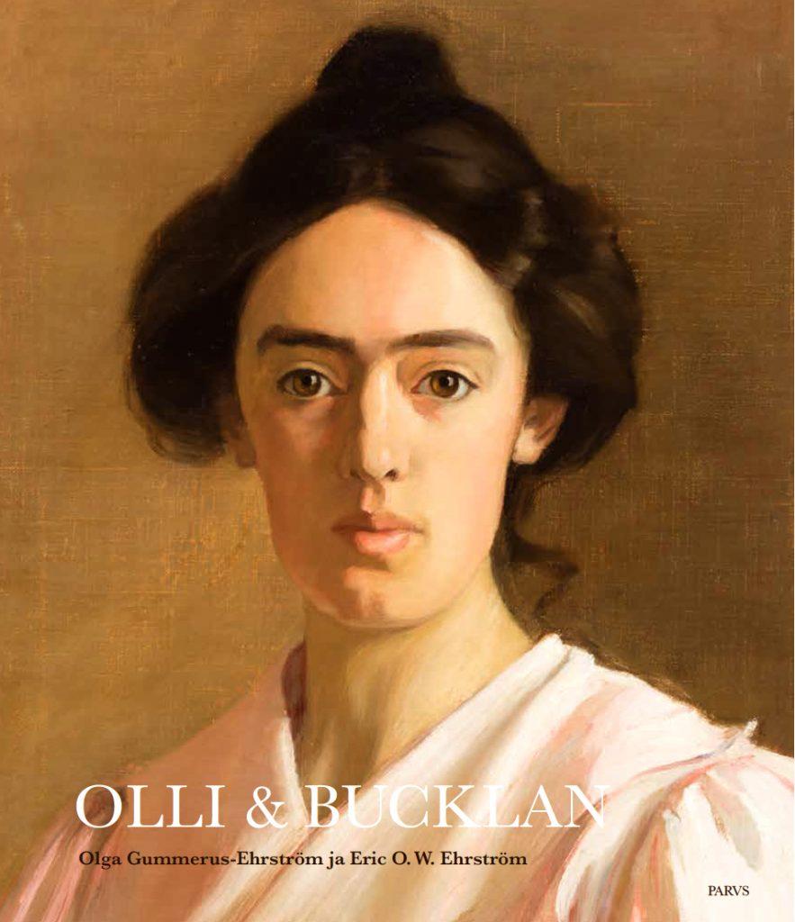 Olli ja Bucklan -teoksen kansikuva. Serlachius museoiden julkaisuja.