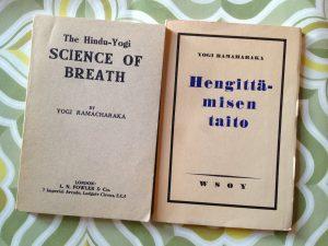Yogi Ramaharakan joogafilosofinen kirja Hengittämisen taito, 1935.