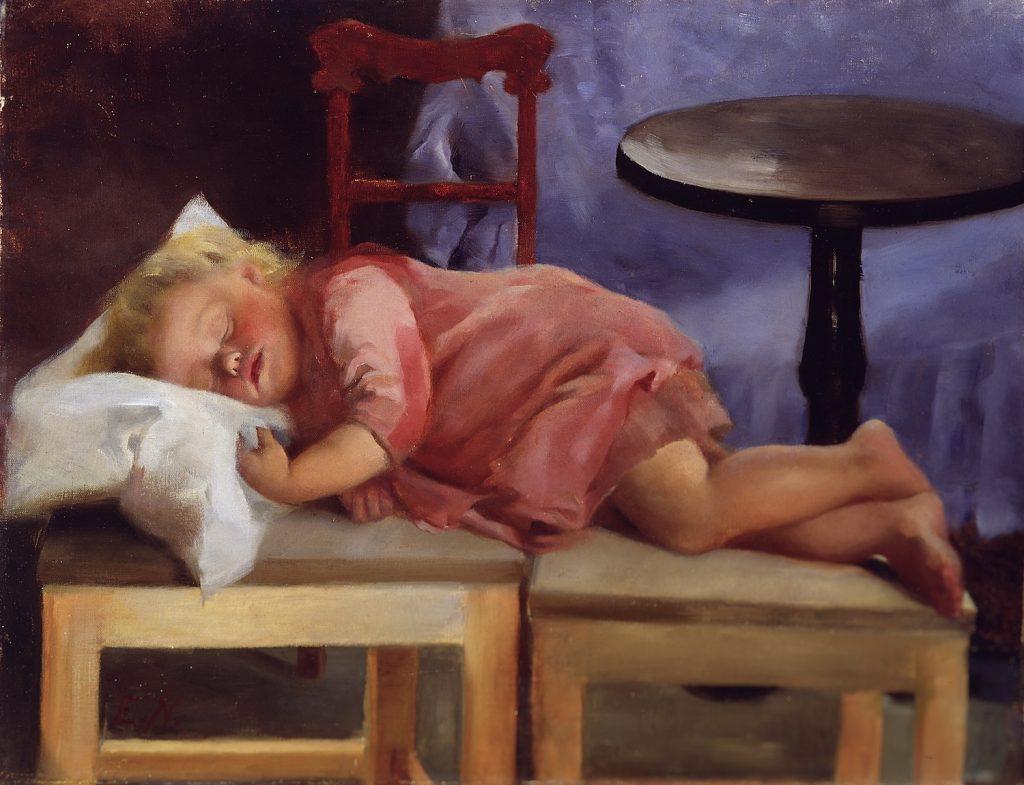 Elin Nordlund, Nukkuva lapsi, 1891
