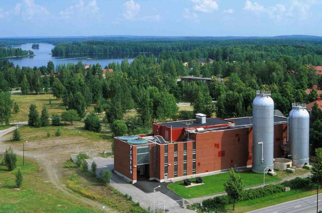 Mänttä Art Festival is located at the former industrial building Pekilo.