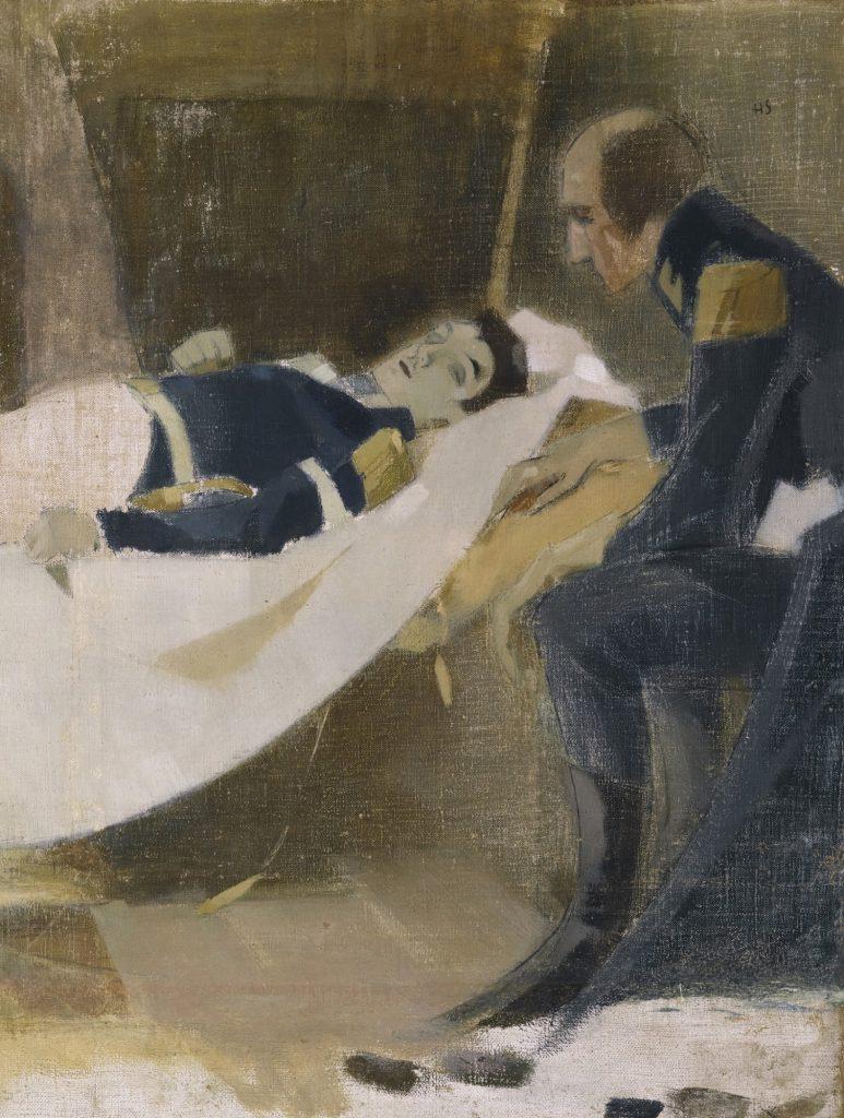 Helene Schjerfbeck, Wilhelm von Schwerinin kuolema