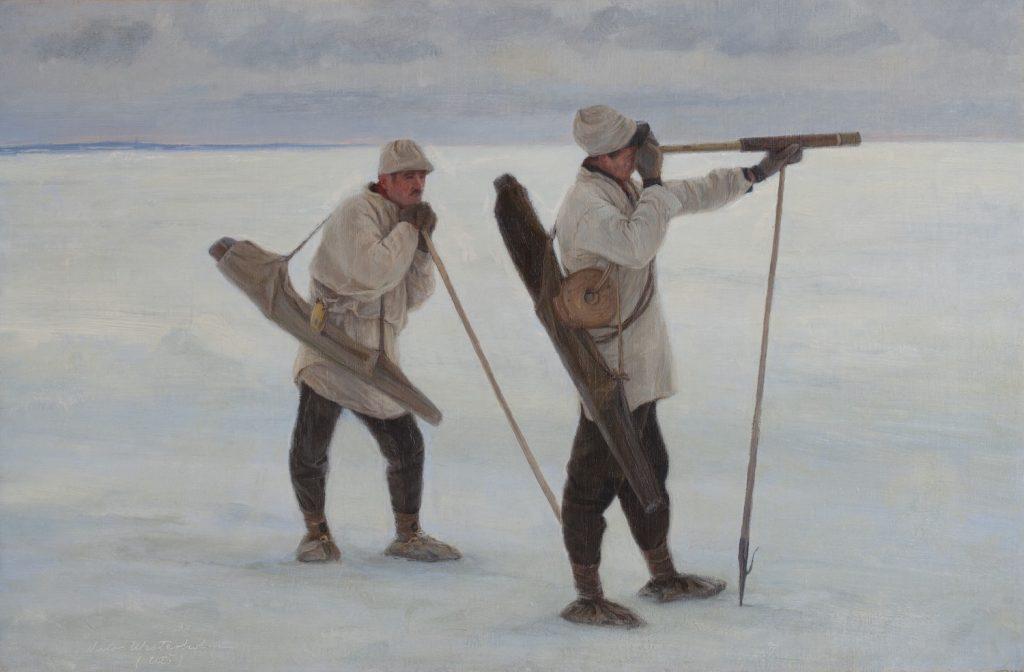 Viktor Westerholm, Hylkeenpyynti, 1900