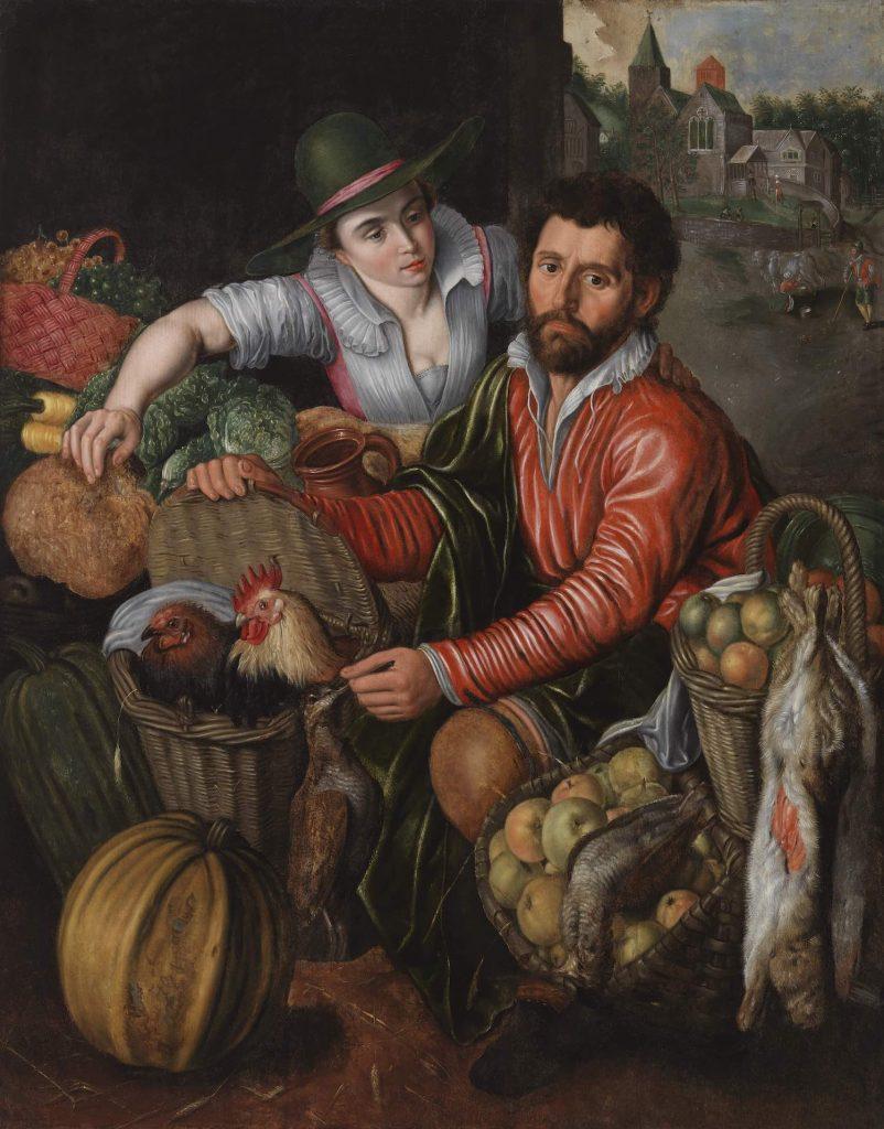 Pieter Aertsen, Vihannes- ja riistanmyyjä