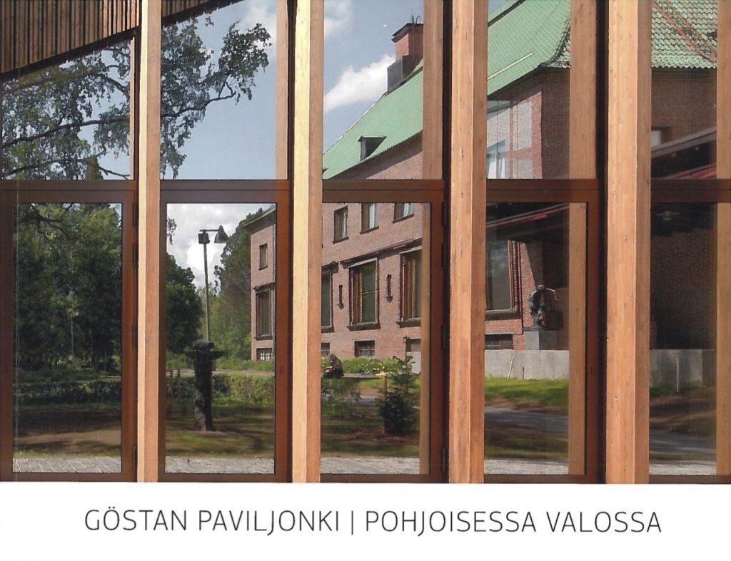 Göstan paviljonki – pohjoisessa valossa -kirjan kansikuva.