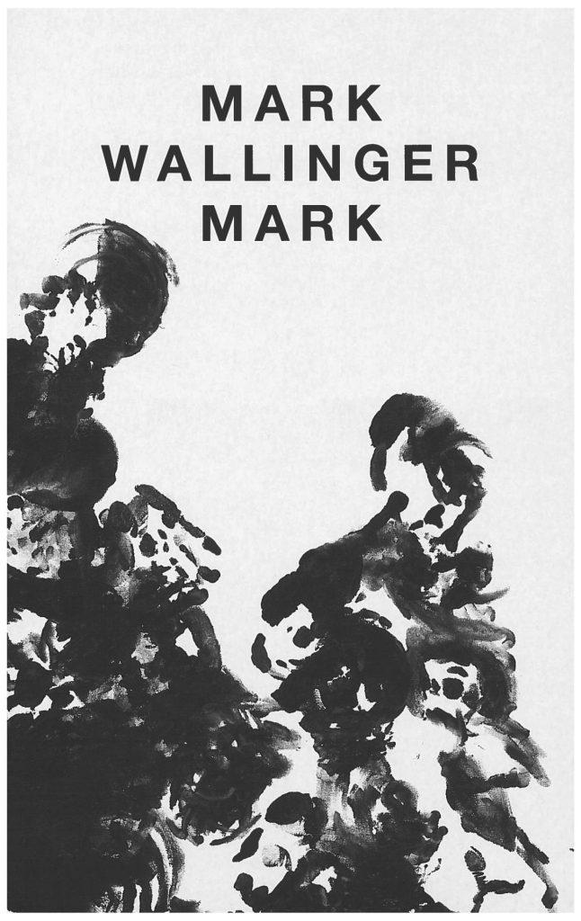 Serlachius museoiden Mark Wallinger Mark -kirjan kansikuva