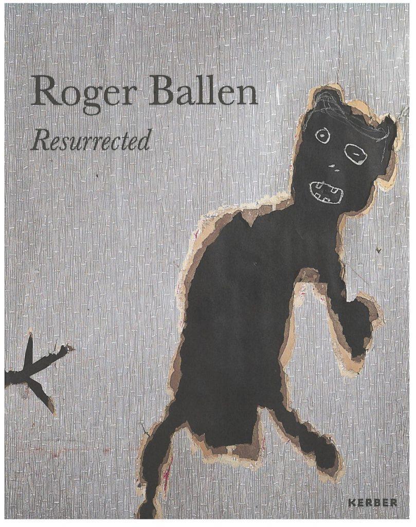 """Serlachius museoiden """"Roger Ballen – Resurrected"""" teoksen kansikuva."""