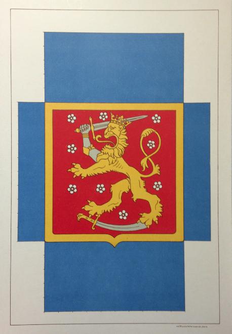 Serlachius museot, Suomen vaakunalippu