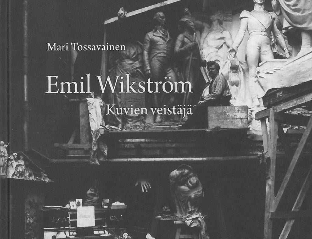 """Serlachius museoiden """"Emil Wikström – Kuvien veistäjä"""" teoksen kansikuva"""