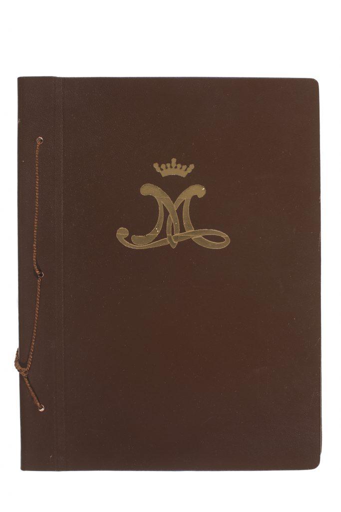 Vuoden 1918 valkoisen armeijan muistoalbumi. Serlachius-museoiden kokoelmat.