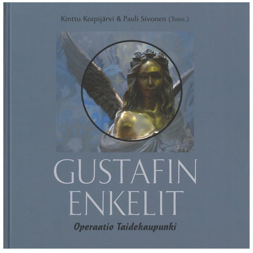 Gustafin enkelit -teoksen kansikuva. Serlachius museoiden julkaisuja.