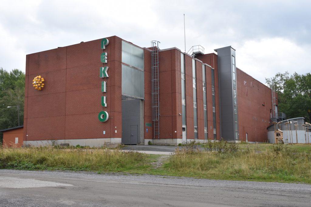 Mänttä Bildkunstwochen in Pekilo.