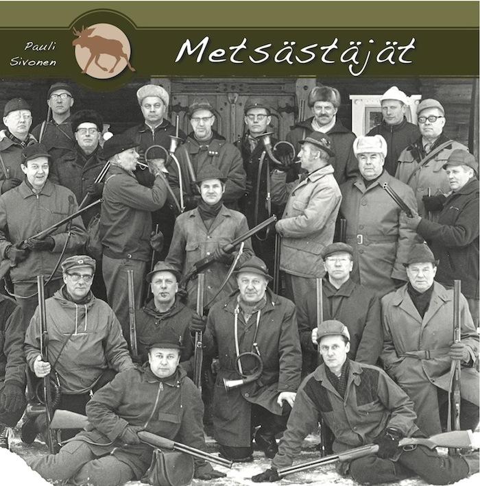 Metsästäjät -teoksen kansikuva. Serlachius-museoiden julkaisuja.