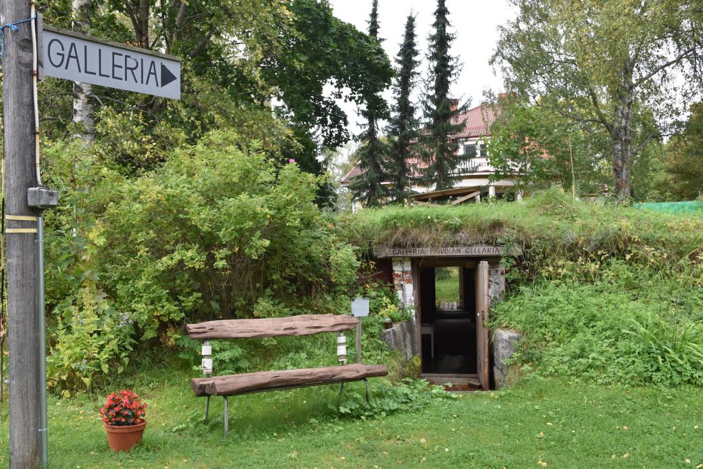 Päivölä källargalleri Gellaria i Mänttä-Vilppula