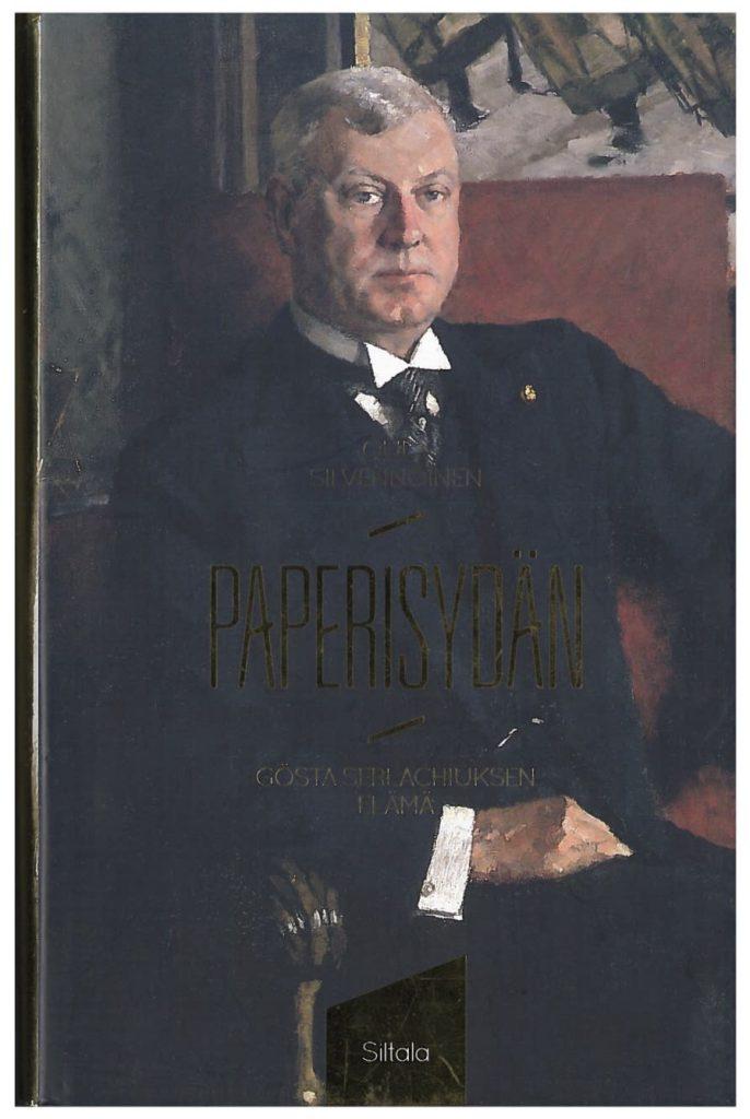 Paperisydän -teoksen kansikuva. Serlachius-museoiden julkaisuja.