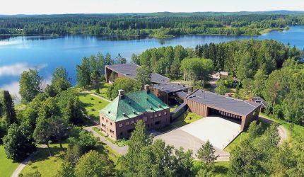 Serlachius-museo Gösta ilmakuva