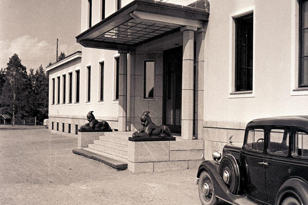 Serlachius-yhtiö pääkonttori 1930-luku