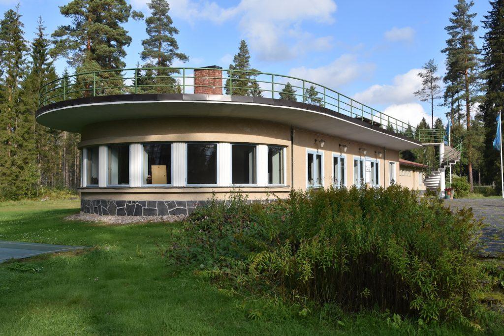 Tennispavillon in Mänttä.