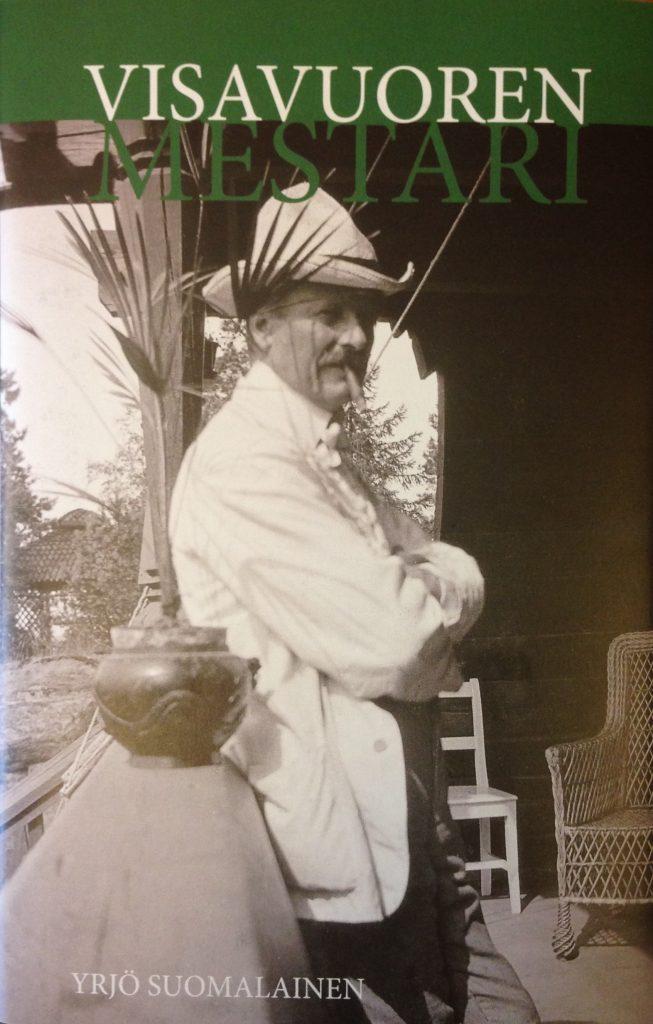 Visavuoren mestari -teoksen kansikuva. Teos kertoo taiteilija Emil Wikströmin elämästä.