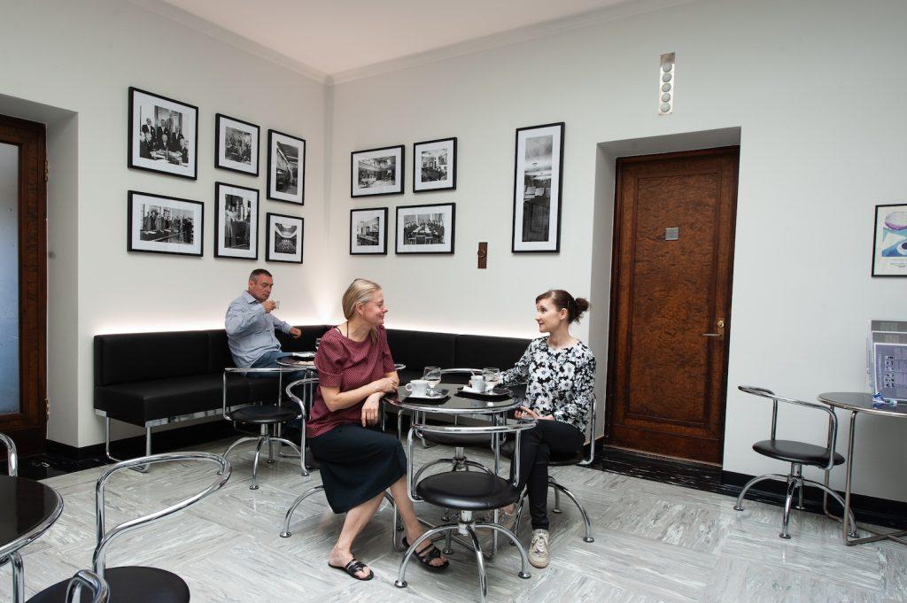 Serlachius-museo Gustaf historiallinen kahvila