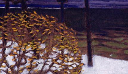 Akseli Gallen-Kallela, Syksy, harjoitelma, 1903, tempera ja öljyväri kankaalle, Gösta Serlachiuksen taidesäätiö. Kuva: Hannu Miettinen.