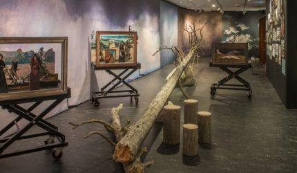 Maisema-näyttely Serlachgius-museot