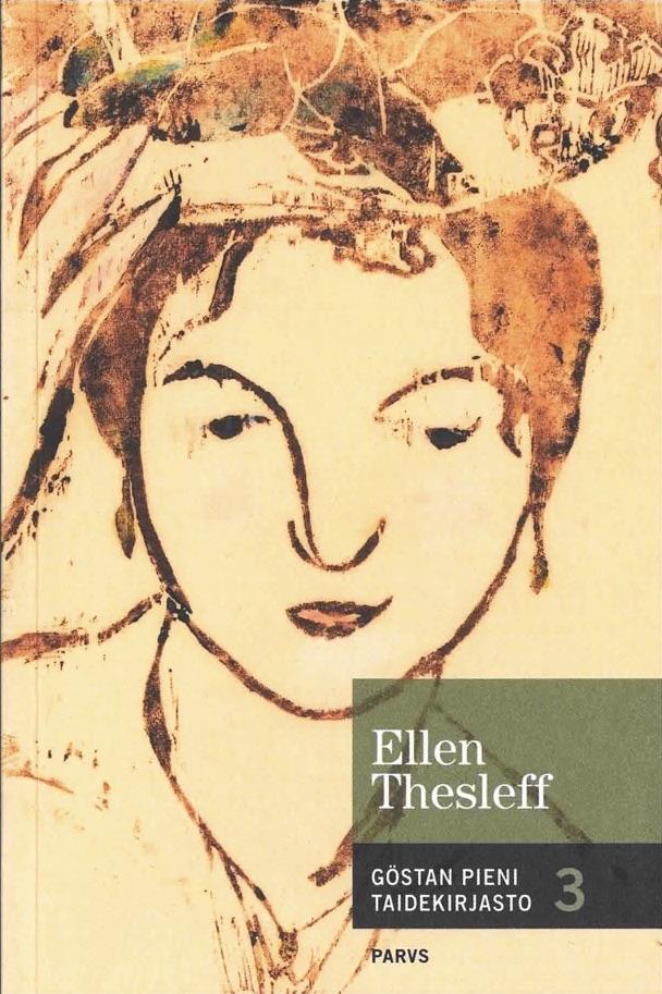 Göstan pieni taidekirjasto 3, Ellen Thesleff -kirja