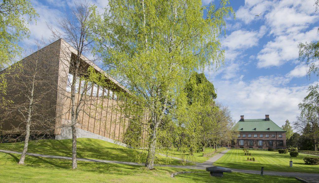 Serlachius-museo Gösta keväällä