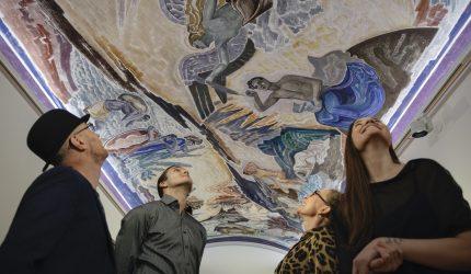 Asiakkaat Serlachius-museoissa