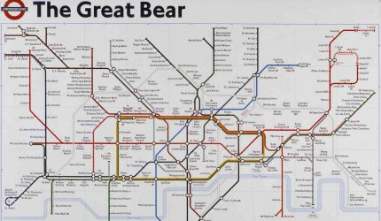 Simon Patterson, The Great Bear, 1992. Courtesy the Artist.