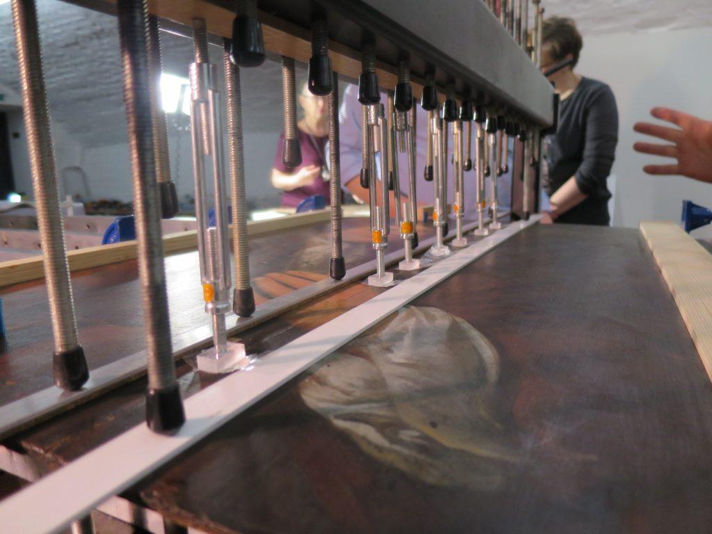 Van Grol ruuvipuristuspöytä