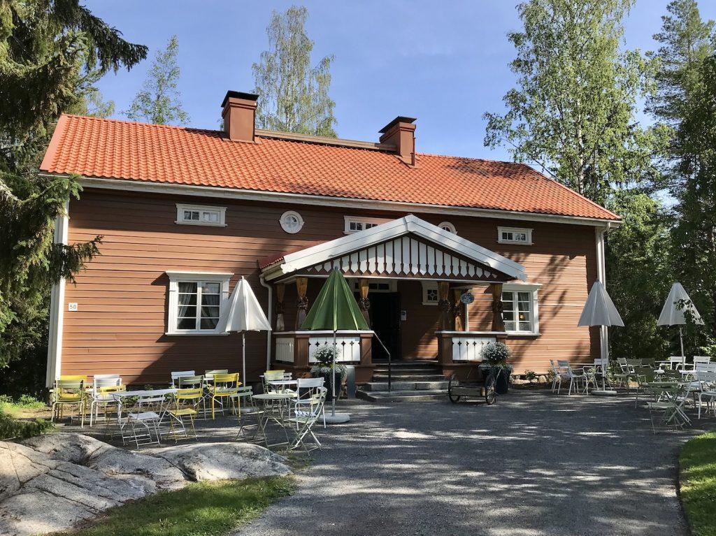 Serlachius-museo Gösta Autereen tupa