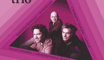 David Chevallier trio